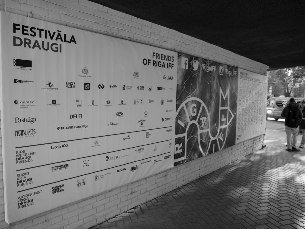 Riga IFF reklāmas materiāli