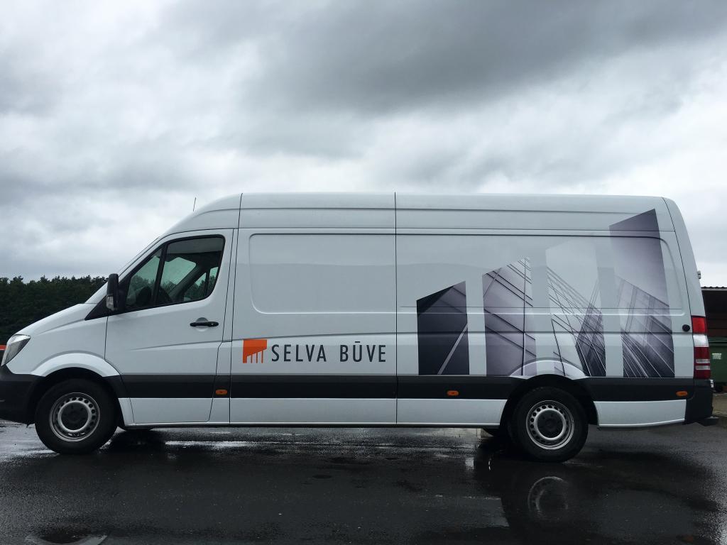 Mikroautobusa aplīmēšanas darbi uzņēmumam SELVA BUVE