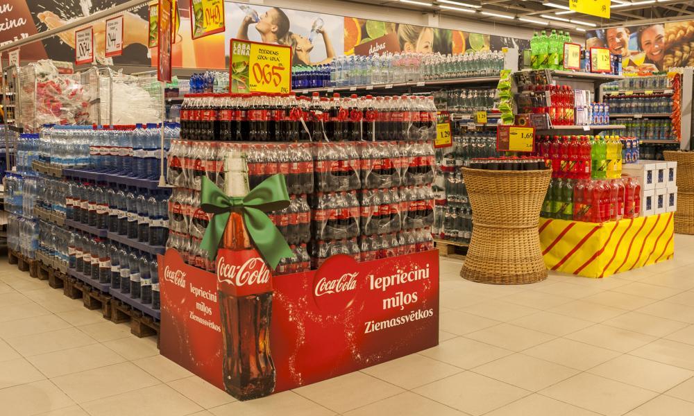 Coca Cola Ziemassvētku akcija