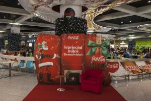 Coca Cola Ziemassvētku noformējums